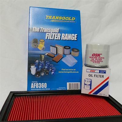 Filter Service KIT OIL & Air NISSAN X-TRAIL XTRAIL X TRAIL T30 QR25DE