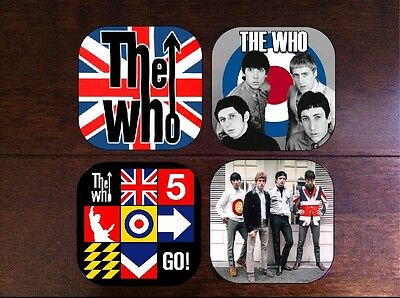 THE WHO COASTER SET COASTERS perfect gift