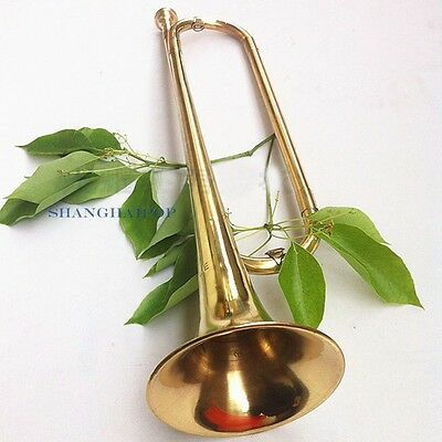 Brass Trumpet Acoustic Instrument School Band Student Child Beginner Military