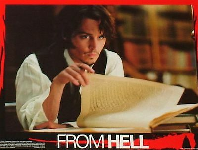 FROM HELL - 11x14 US Lobby Cards Set - Johnny Depp, Heather Graham, Hughes Bros