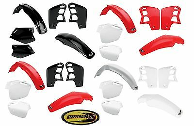 Ufo Plastic Kit Fits Honda Cr500 1991 1992 1993 1994 1995 1996 Fender Plate