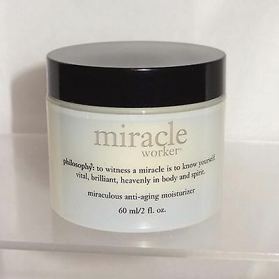 PHILOSOPHY MIRACLE WORKER, MIRACULOUS ANTI-AGING MOISTURIZER, 2 OZ, NEW, SEALED