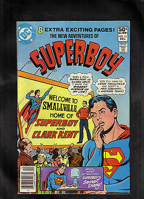 New Adventures Of Superboy # 12 G  1980