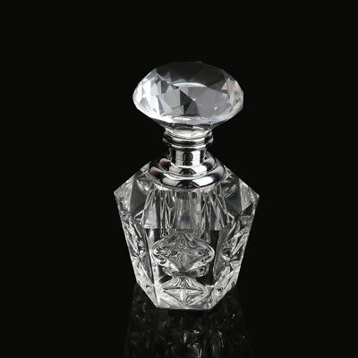 Wholesales Vintage Crystal Cut Glass Perfume Bottle Fragrance Unique lady Gifts