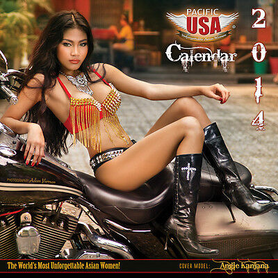 NEW -  Pacific USA 2014 Asian Girls Calendar