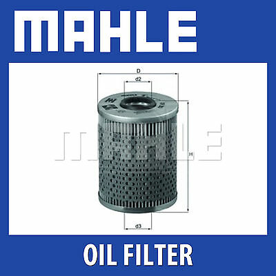 Mahle Oil Filter OX68D - Fits BMW - Genuine Part