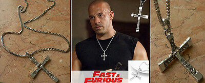 Cadena Colgante Cruz A Todo Gas The Fast And Furious Dominic Toretto Vin Diesel