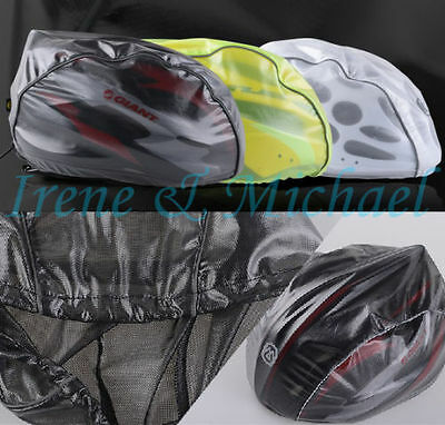 UK stock Sale MONTON Bike Bicycle Adjustable Helmet Rain Waterproof Cover U Pick