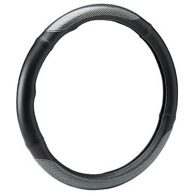 Bell Automotive Products Steering Wheel Cover Carbon Stretch On 52843-1