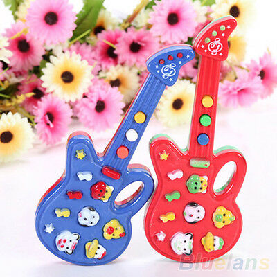 Exquisite Child Baby Kids Electronic Guitar Sound Rhyme Developmental Music Toy