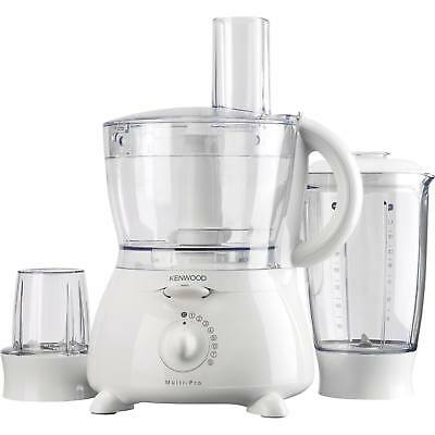 Kenwood FP691 Powerful 900 Watts 1.5 Litres Compact Food Processor in White New