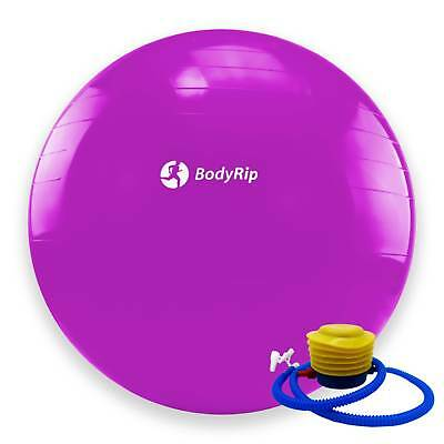 BodyRip PINK EXERCISE GYM YOGA SWISS 65cm BALL GYM FITNESS AB ABDOMINAL TONE