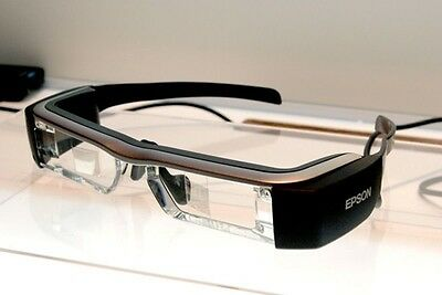 EPSON MOVERIO BT-200 Smart Glass See-Through Mobile Head Mount Display - $639.95