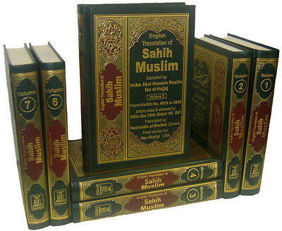 SPECIAL OFFER: Sahih Muslim - Arabic / English (7 Volume) Darussalam - Hardback