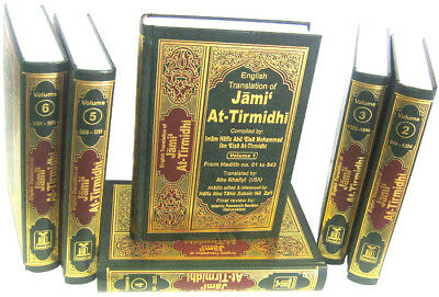 Jami at-Tirmidhi - Arabic / English (6 Volume Set) Darussalam - HB