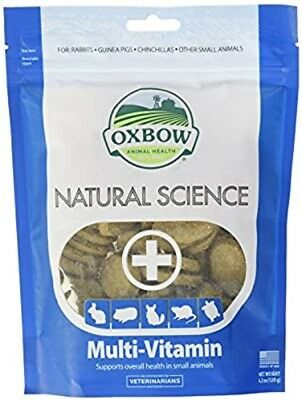 Oxbow Natural Science Multi-Vitamin Tablets x 60. Fast Dispatch.