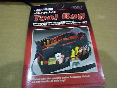 Craftsman 43-Pocket Tool Bag