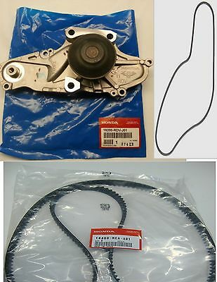 New Genuine Timing Belt & Water Pump Kit Honda Acura V6 Factory Parts!