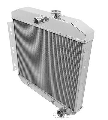(6 Cylinder Mount) 1955 1956 Chevrolet Two-Ten Series 3 Row DR Radiator