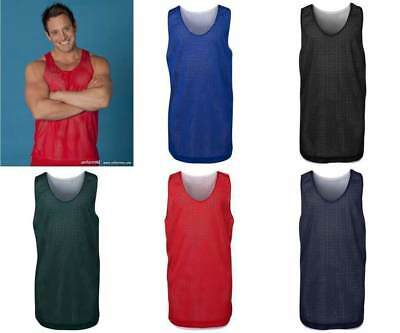 Mens and Kids Reversible Basketball Singlet 7KBS2 | 2-in-1, Training, Gym, Top