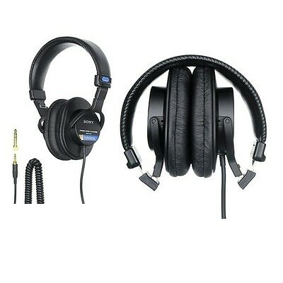 SONY MDR-7506 Monitor Headphones High Quality and Compact Professional MDR7506