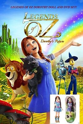 Legends Of Oz! Dorothy! The Return Of Oz! Fashion Doll! Perfect! New!