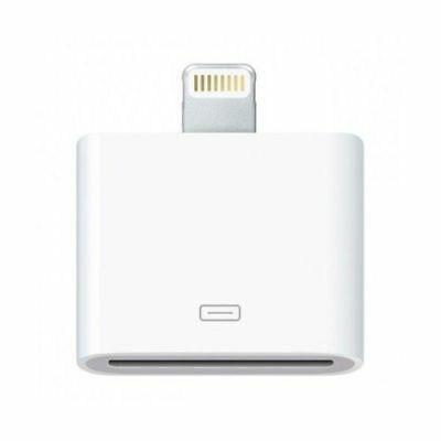 Chargeur iPhone 4 pour iPhone 5 Chargeur Adaptateur iPhone (8pin vers 30pin)