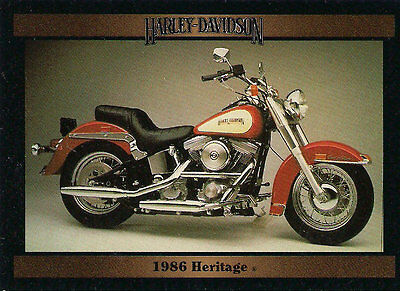 Harley Davidson 1986 FLST Heritage Softail Collectible Motorcycle Series 2 Tradi