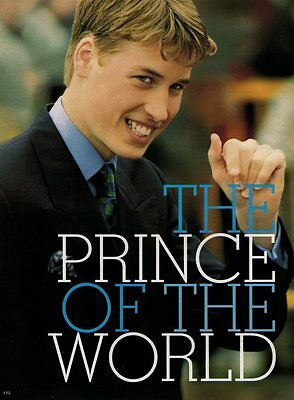 PRINCE WILLIAM  (5 pages)  1999 Article & Pictures Clipping   va