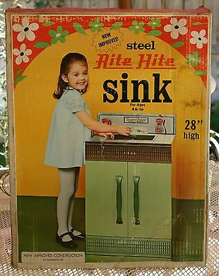 """Vintage RITE HITE SINK - 28"""" Sunny Suzzy by Wolverine, Steel construction NRFB"""