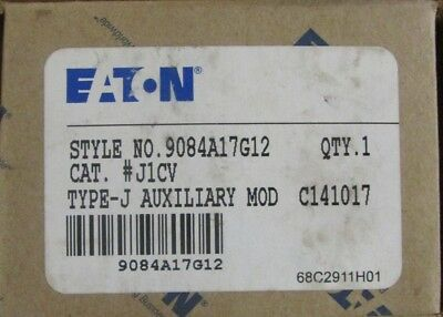 EATON CUTLER HAMMER J1CV NO NC Vacuum Coil Clearing Auxiliary Contact  J1C  J11