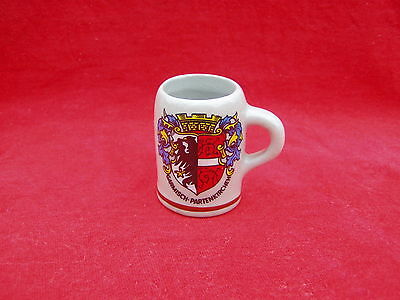 Older Mini Mug / Stein Ceramic Shot Glass Garmisch Partenkirchen