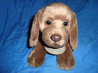 "Yomiko Classics German Shorthaired Pointer Dog Plush and Beans Russ 10.5"" long"