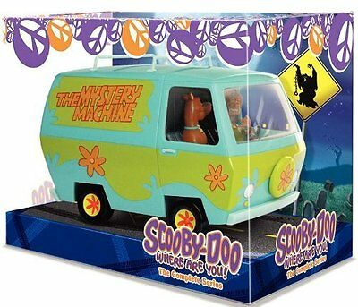 Scooby Doo Where Are You Mystery Machine Complete Series 8 Disc Dvd Box Set R4