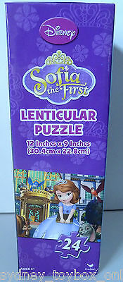 Sofia the First 24 Piece Lenticular Puzzle
