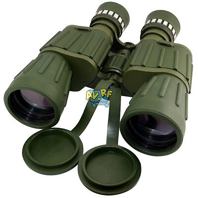 10X50 Zoom Military Army Binoculars Folding Day Night Vision Telescope Outdoor