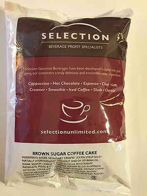 Selection Unlimited - Brown Sugar Coffee Cake Cappuccino, 2 - 2 Lb. Bags