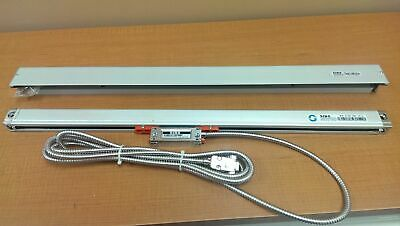 """45"""" Glass Scale w/ Cover for SINO DRO, Resolution 0.0002"""", 10"""" Cable, #SIN3-0113"""