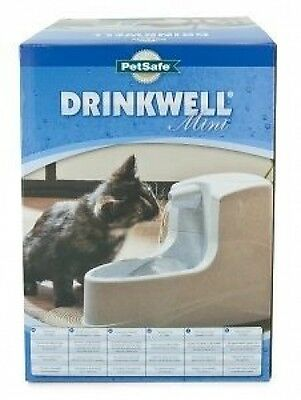 PetSafe Drinkwell Dog Cat Pet Water Fountain Bowl Drinker Mini 1.2L