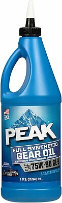 Peak 75W-90 Full Synthetic Gear Oil Quart P9GS776
