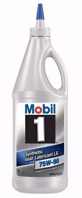 Mobil 1 Synthetic Gear Lube, LS 75W-90, 1-Quart 104361