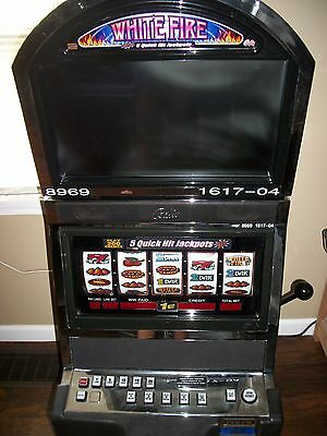 Bally Alpha 9000 Quick Hit White Fire 5-Reel Slot Machine