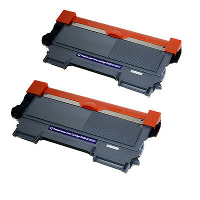 2PK TN420 Black Toner Cartridge For Brother HL-2240 HL-2270DW MFC-7360N