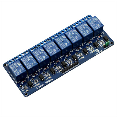 5V 8-Channel Relay Module with optocoupler for Arduino PIC ARM DSP AVR