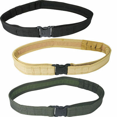 Viper Security Belt Quick Release Combat Black, Green Or Sand Airsoft Army