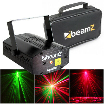 Ultra Bright Compact Disco Laser DJ Lighting Party Light + FREE Protective Case