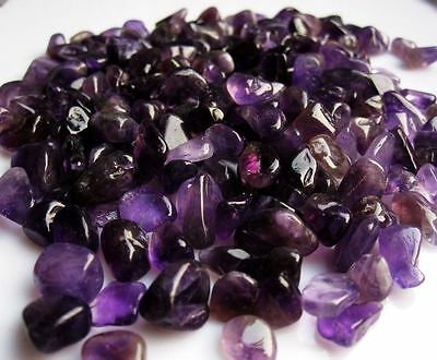 50g Natural Amethyst Quartz Crystal Rock Chips particles Healing Uruguay