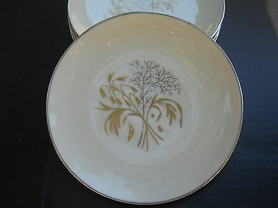 Franciscan China Bread Plates, Set of 4, Winter Bouquet Pattern