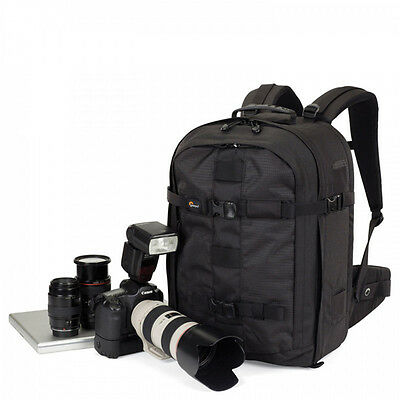 Lowepro Pro Runner 450 AW DSLR Camera Bag Backpack Case & All Weather Cover