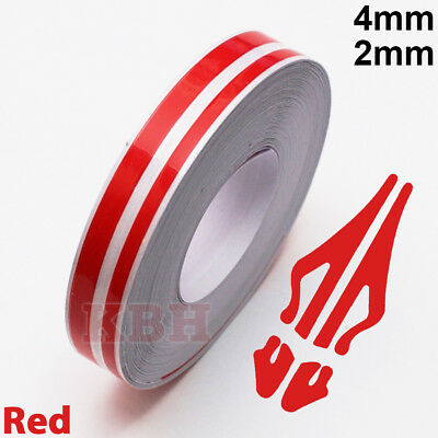 9mm RED Detailing Pinstripe Coachline Strip MC17//10 PS9